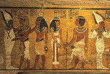 [3100 bc - 30 bc] Egyptian Art / Ancient Egyptian art is the painting, sculpture, architecture and other arts produced by the civilization of ancient Egypt in the lower Nile Valley from about 3000 BC to 30 AD. Ancient Egyptian art reached a high level in painting and sculpture, and was both highly stylized and symbolic.