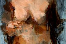 Painterly figurative