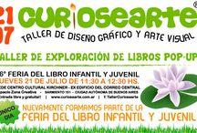 Taller Curiosearte en la Feria del Libro Infantil y Juvenil / Curiosearte en la 26ª Feria del Libro Infantil y Juvenil brinda el Taller de exploración del Libros Pop-Up