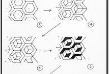 Μοτίβα Zentangle