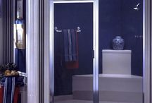 Framed Shower Doors / Framed shower doors offer consumer a wonderful alternative to frameless or semi-frameless shower doors.  Framed shower doors are somewhat less expensive and give a bold, beautiful look for any bathroom.  Call ABC Glass at 703-257-7150 for information on shower door options.