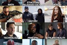 Marvel Universe and DC