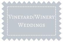 Vineyard & Winery Weddings