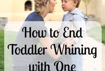 Toddler wining