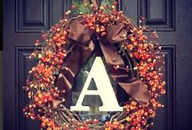 Wreaths / Arts and crafts  / by Sarah Yackobeck