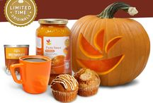 Pumpkin Exclusives! / The best part about Fall? Pumpkin! We've got over 50 pumpkin-packed items, exclusively at Martin's for a limited time. Quantities and items may vary. See your store for details.