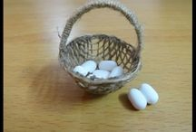 Dolls House DIY Baskets and Wickering