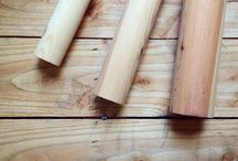 Traditional Wooden Curtain Poles