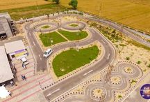 Automated driving track test centers