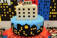 Homem aranha festas e bolos