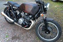 Cafe racer project / Custombygge Kawasaki kz750