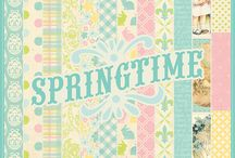 Springtime Collection / by Authentique Paper