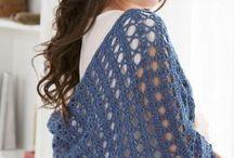 Crochet shawls / Crochet shawl patterns and ideas