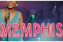 """""""Memphis"""" - 2015 Season -  August 5th - 30th / Set in Memphis, Tennessee in 1955, """"Memphis"""" tells the story of a seminal moment in music's history - the birth of soul and R&B.  Inspired by true events from underground dance clubs of 1950s, """"Memphis"""" follows the fame and forbidden love of a radio DJ who wants to change the world and a club, soul singer who is ready for her big break. """"Memphis"""" features an electrifying score of created by Bon Jovi keyboard player David Bryan (with lyrics by Joe DiPietro) as well as roof-raising choreography."""