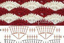 Punti crochet / Punti curiosi all'uncinetto