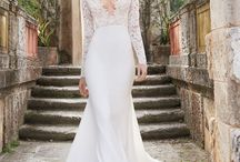 Sleeves are In! / Check out our fabulous gowns with sleeves. Traditional style with modern twist.