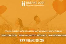 Free Registration View Unlimited Profiles No Membership Fee / Urbane Jodi is free caste no bar matrimonial portal, having handpicked singles across the globe, providing 100% real verified users. To know more visit www.urbanejodi.com