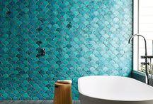 ESCAMAS CERÁMICAS / CERAMICS SCALE / Las escamas cerámicas son todo un ejemplo de la esencia del material cerámico y sus formatos más icónicos
