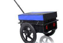 Remolques de bicicleta de carga / Remolques de bicicleta de carga. Estos remolques te permiten transportar tu equipaje, tu herramienta, tu cosecha etc, siempre acompañado de tu bicicleta.