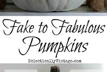 Happy Fall Y'all / Various items/crafts for the Autumn season