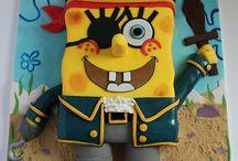 SpongyaBob torták :)