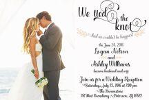 Couple Photo Wedding Invite