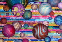 Collages and Circles / I love this stuff. The circles jump. Gotta try some Collages like this.  / by Lynn Speegle