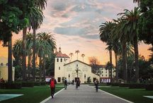 California Missions / The Santa Clara Mission is the only California Mission located on a college campus. / by Santa Clara University