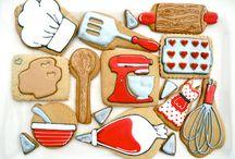 Biscotti / #biscotti #dolci #glassa #decorazioni #design