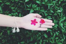 """Flowers / """" I'll always pick you, the prettiest flower that I can find, even if it's the hardest one to get."""""""
