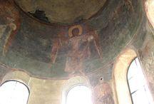 Новгородские и староладожские фрески 12 век
