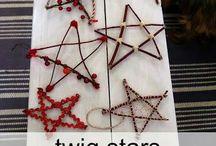 Forest school crafts