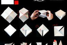 skladanie  papiera