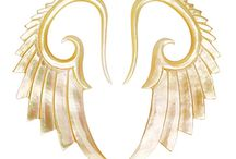 MOP Tapers / Wicked Mother of Pearl Tapers