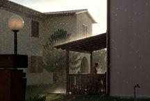 Luglio in pioggia / Una bella pioggia in un pomeriggio di luglio