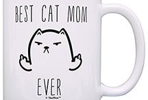 Gift Ideas for Crazy Cat Ladies / A collection of gifts for the crazy cat lady in your life!