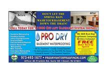 Basement Waterproofing East Hanover NJ