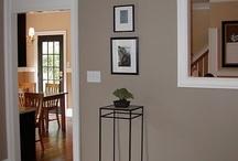 livingroom paint idea's