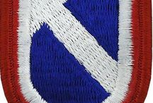 U.S.ARMY Support  PATCH FLASH-OVAL