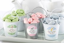 Baby Shower Favors + Decor / Votives, tiny favor boxes, frames, candles and everything to inspire your baby shower! / by Corner Stork Baby Gifts