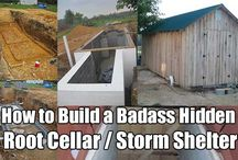 Storm Shelters/ Root Cellars