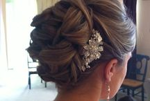 Wedding hair & nails