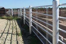 Building Fences / Building Fences on the homestead.