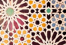 Geometric pattern / Islamic and Morocco Art in traditional sequence
