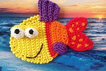 peces a crochet