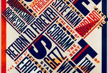 typography - print / graphic design, letters, compositions