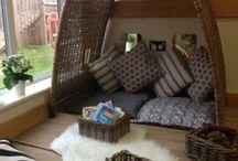 Infants area set up