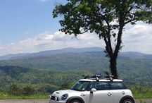 Lauren L's mountainous #motorcation quickly became the crowd favorite in this month's Photo Challenge. Congrats, Lauren! - photo from miniusa