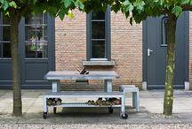 Tuinmeubelen / Garden furniture / Bijzondere tuin- / terrasmeubelen
