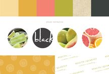 Branding colour pallets